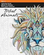 COLORING BOOK TRIBAL ANIMALS - 695 - 70107